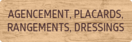 Agencement, Placards, rangements, Dressings